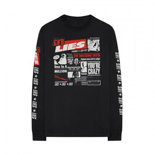 Guns N Roses - Lies 30th Anniversary Cover (Longsleeve)