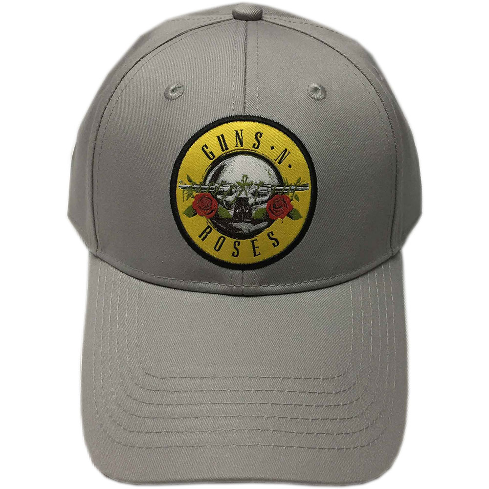 Guns N Roses - Circle Logo (Grey) (Baseball Cap)