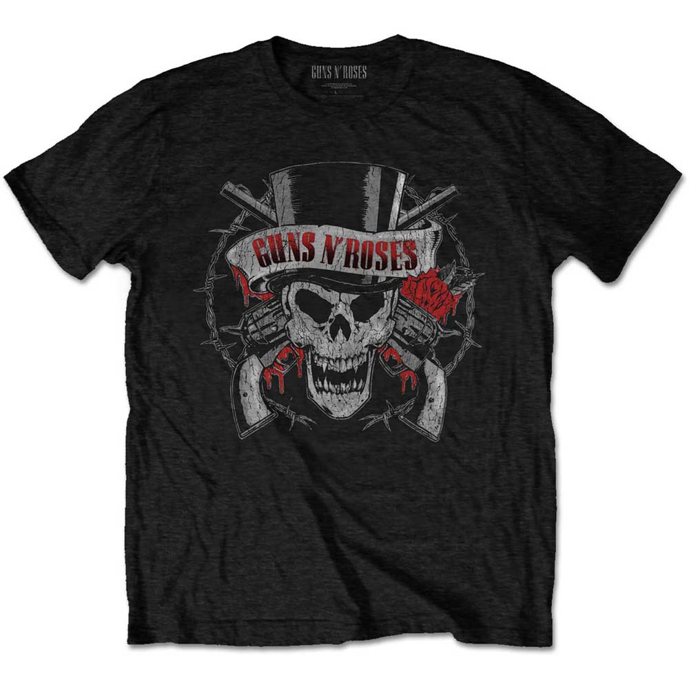 Guns N Roses - Distressed Skull