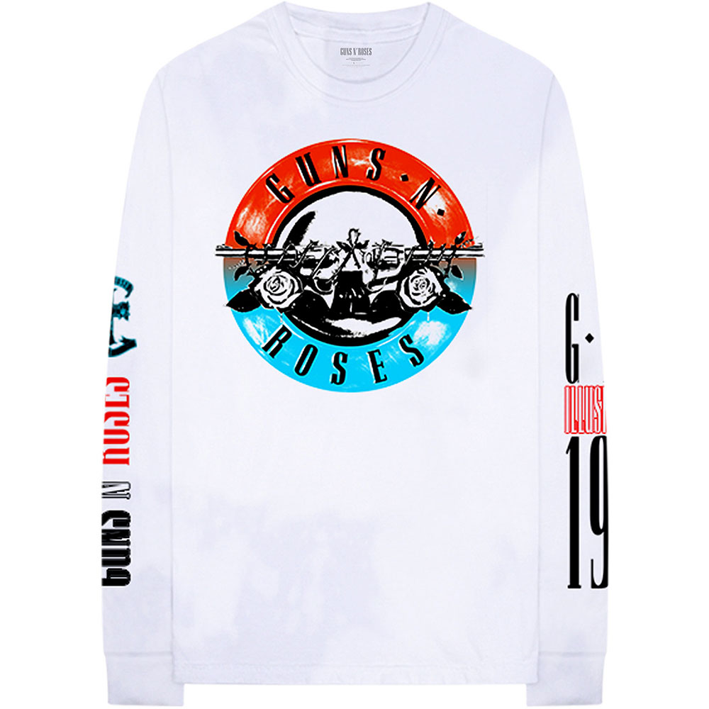 Guns N Roses - Motorcross Logo (Back & Arm Print)