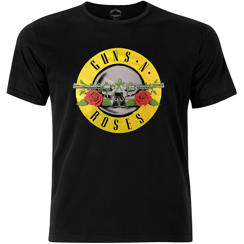 Guns N Roses - Circle Logo Fog Foil (Black)