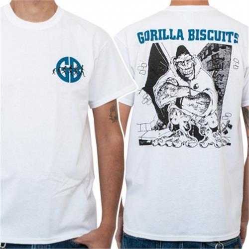 Gorilla Biscuits - City EP Cover (White)