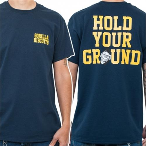 Gorilla Biscuits - Hold Your Ground Pocket (Navy)