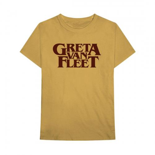 Greta Van Fleet - Old Gold Logo