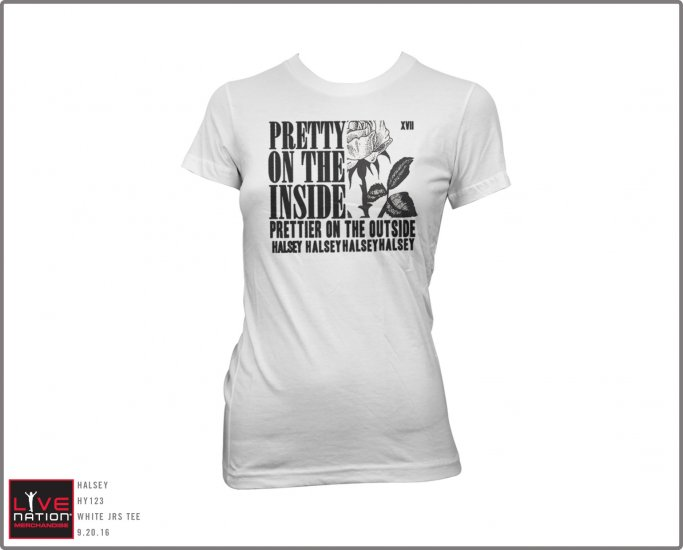 Halsey - Pretty On The Inside (White) (Women's)