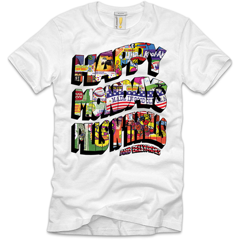 Happy Mondays - Pills N Thrills (White)