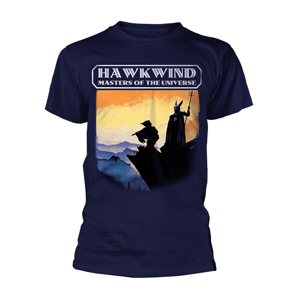 Hawkwind - Masters Of The Universe (Navy)