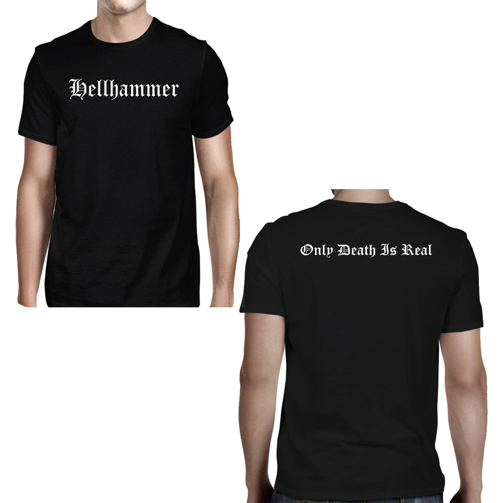 Hellhammer - Old English Logo Only Death Is Real