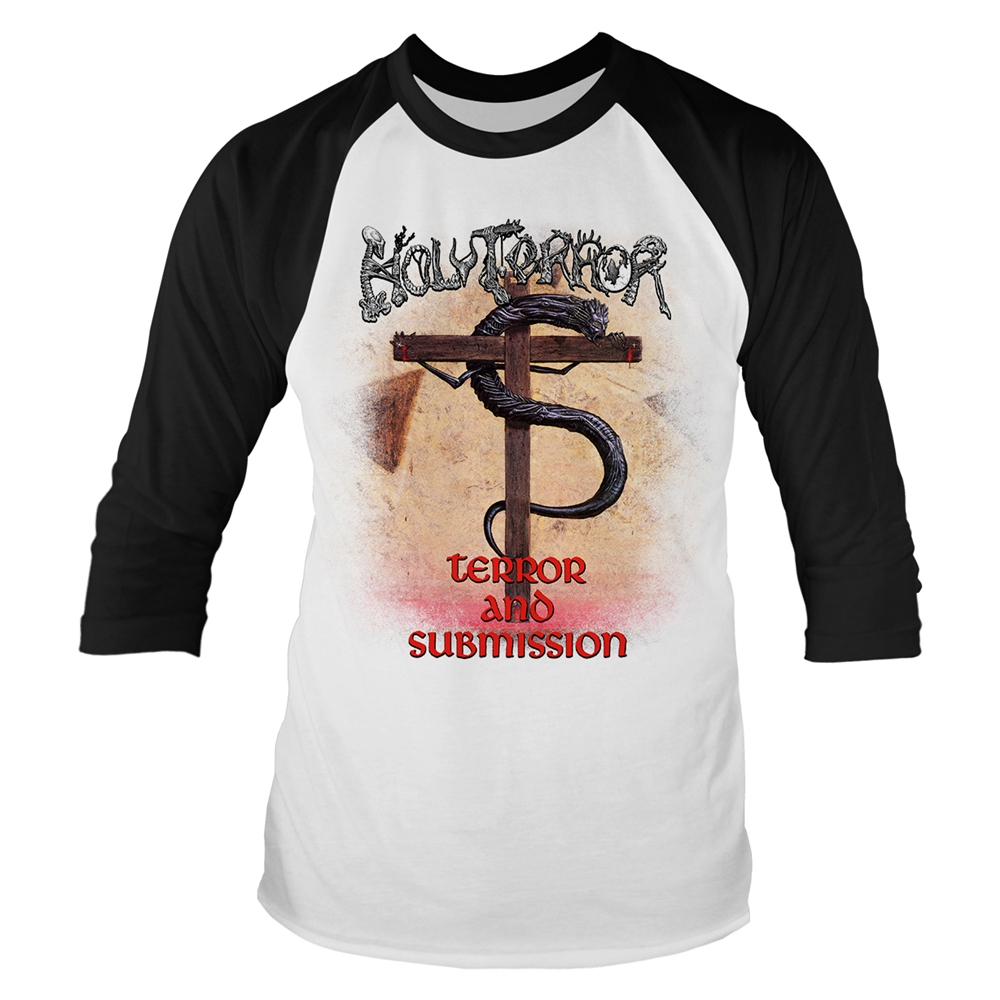 Holy Terror - Terror & Submission (Baseball Shirt)