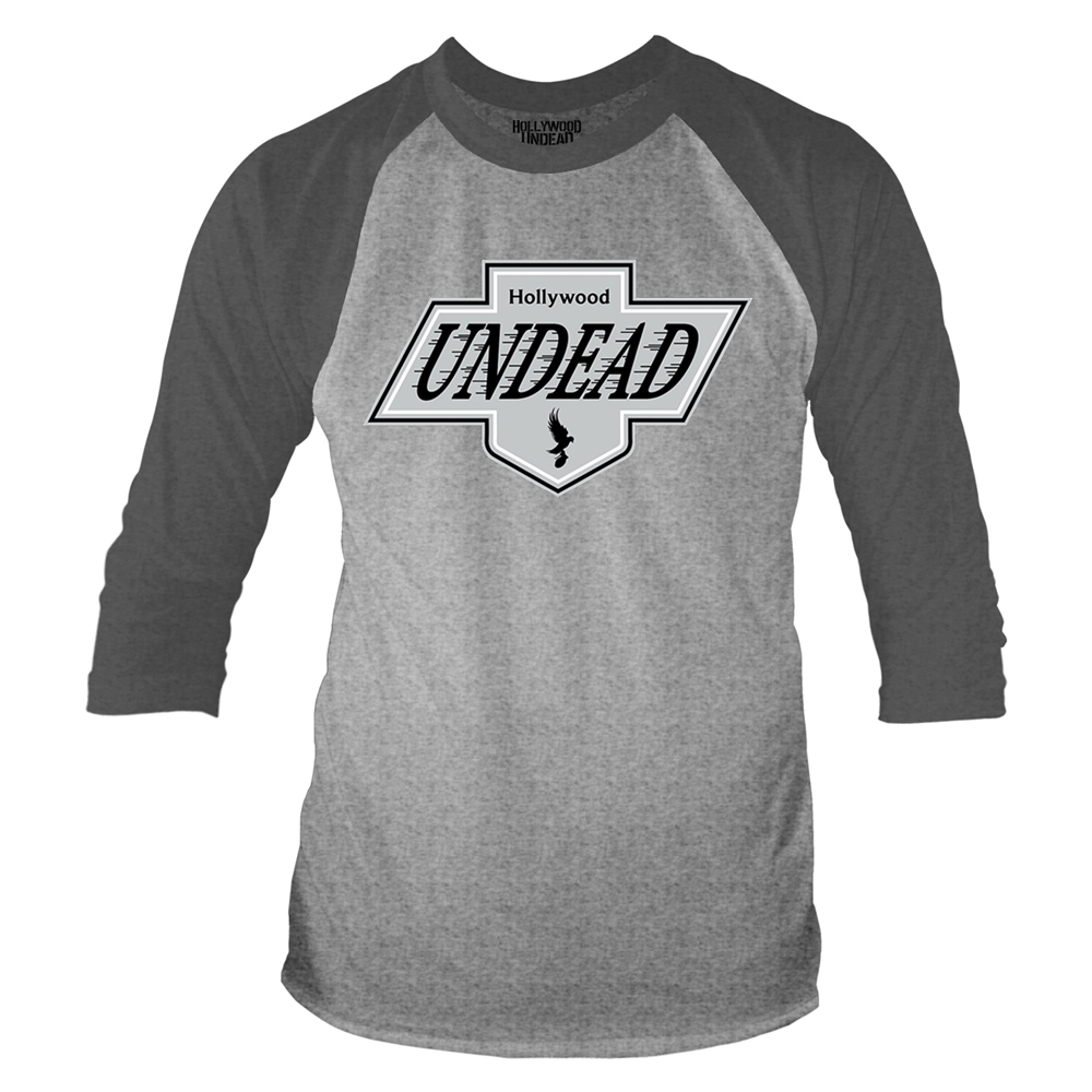 Hollywood Undead - L.A. Crest (Baseball Shirt)