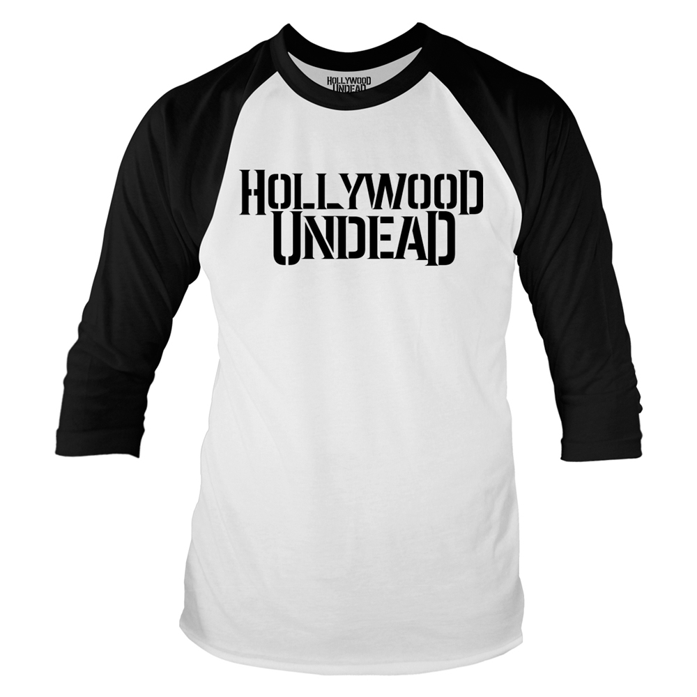 Hollywood Undead - Logo (Baseball Shirt)