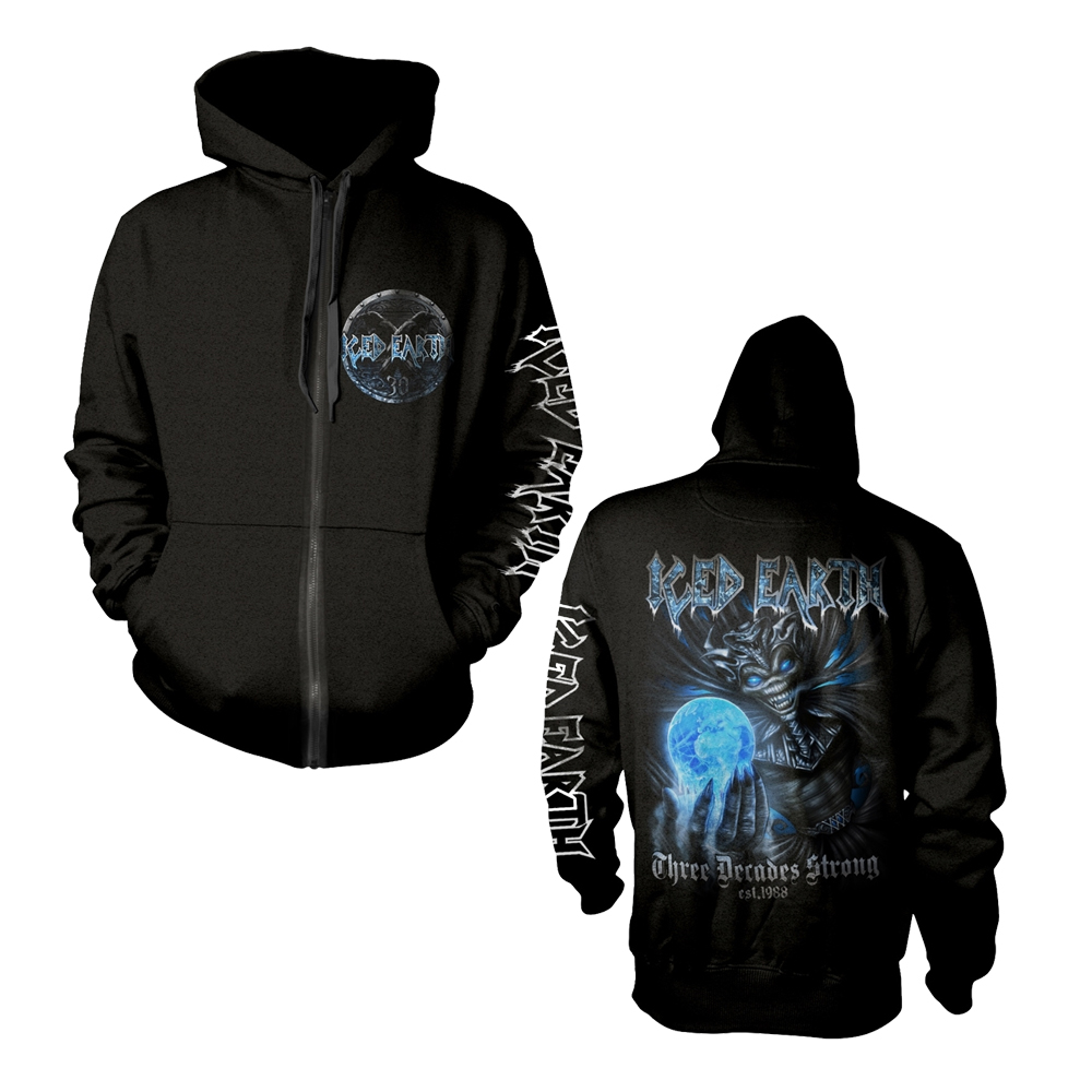 Iced Earth - 30th Anniversary (Zip Hoodie)