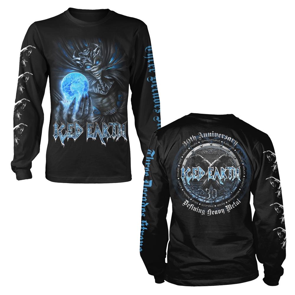 Iced Earth Black Flag Shirt S-3XL T-shirt Official Heavy Metal Band Tshirt