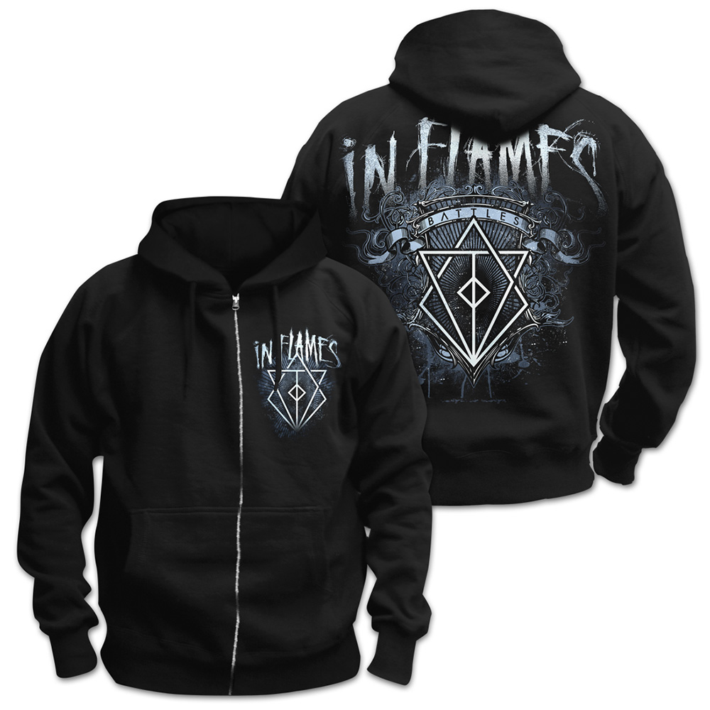 In Flames - Battles Crest (Black)