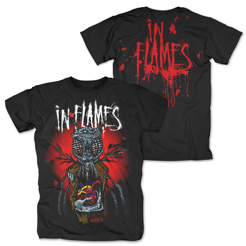 In Flames - Drained (Black)