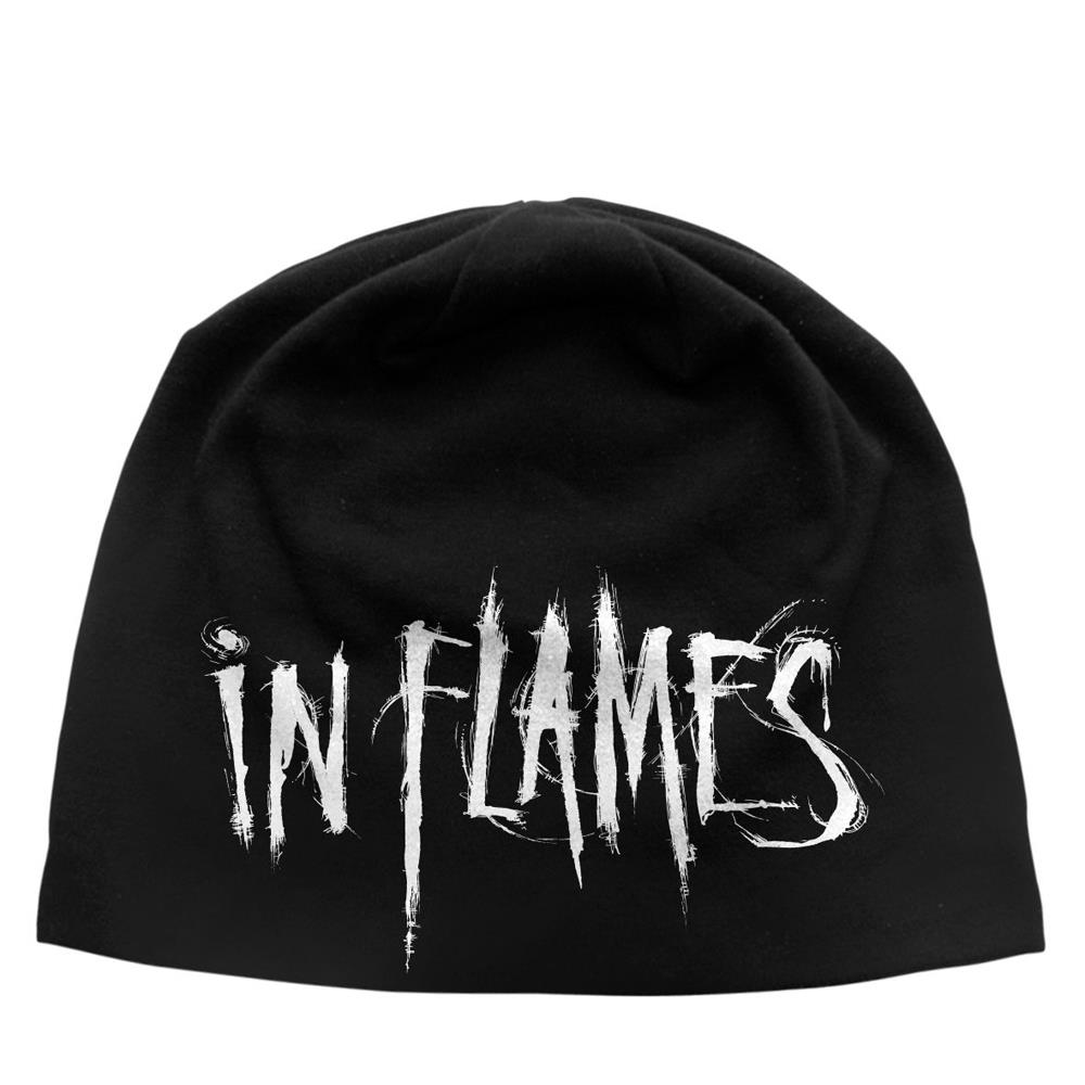 In Flames - Logo (Discharge Beanie Hat)