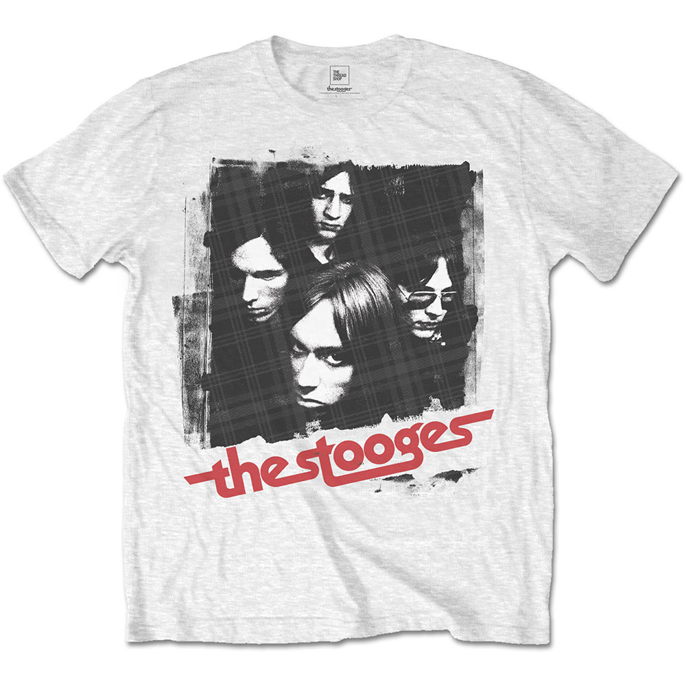 Iggy Pop/The Stooges - Four Faces (White)