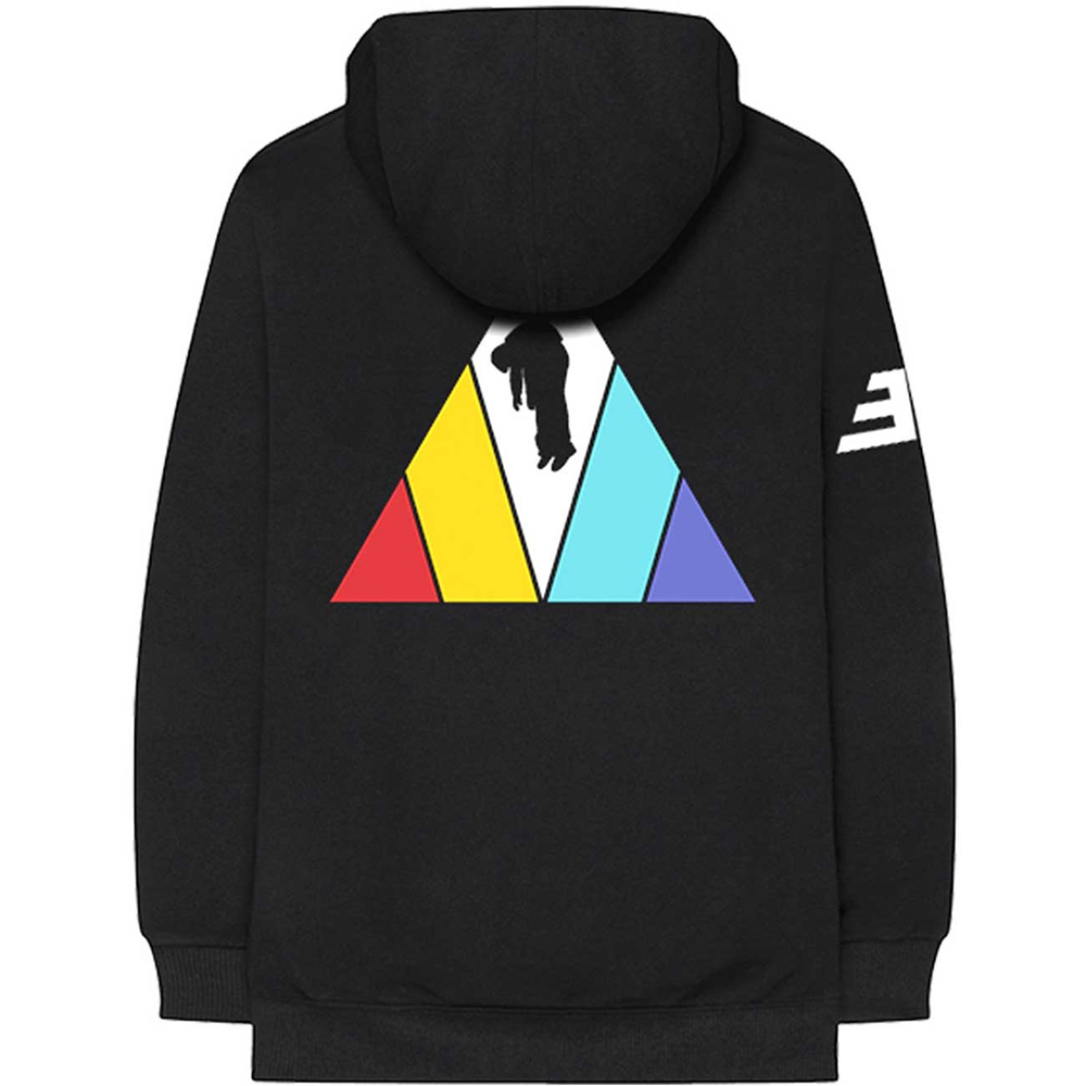 Imagine Dragons - Triangle (Back Print) (Zip Hoodie)