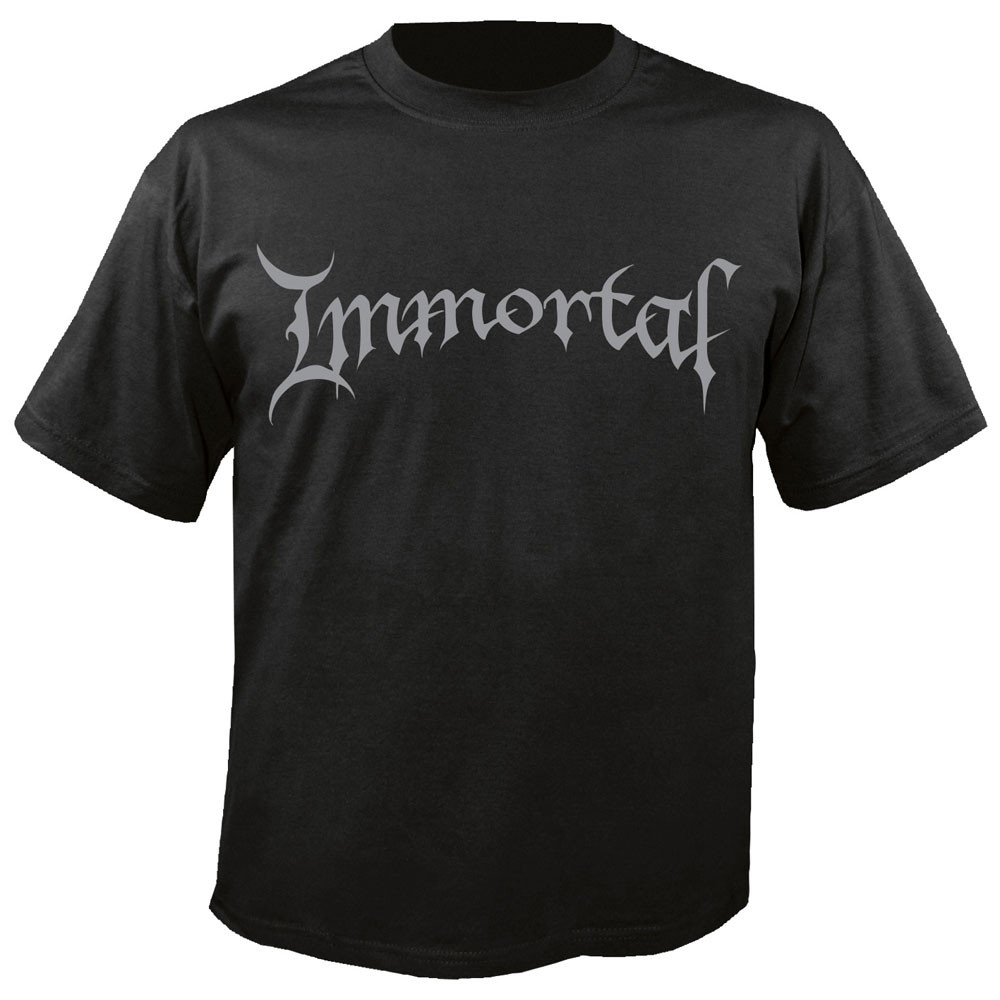 Immortal - Logo (Black)
