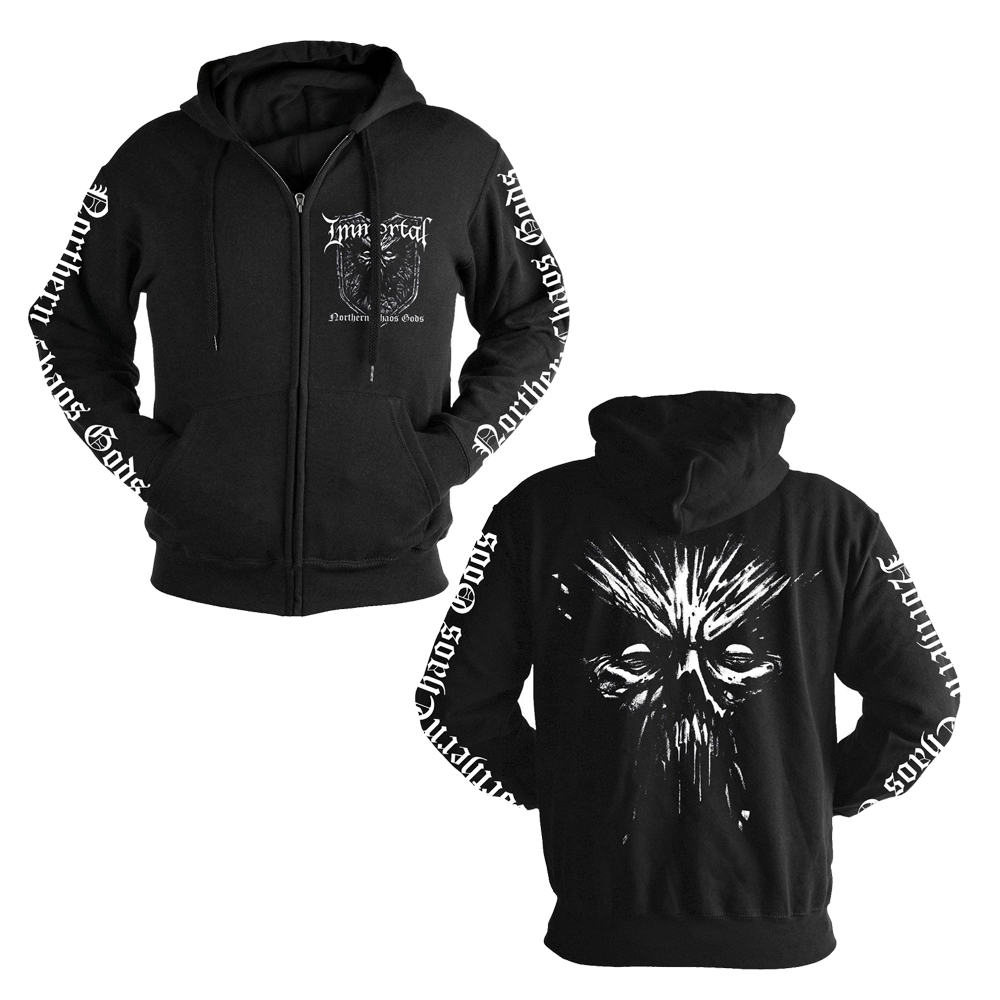 Immortal - Northern Chaos Gods (Zip Hoodie)