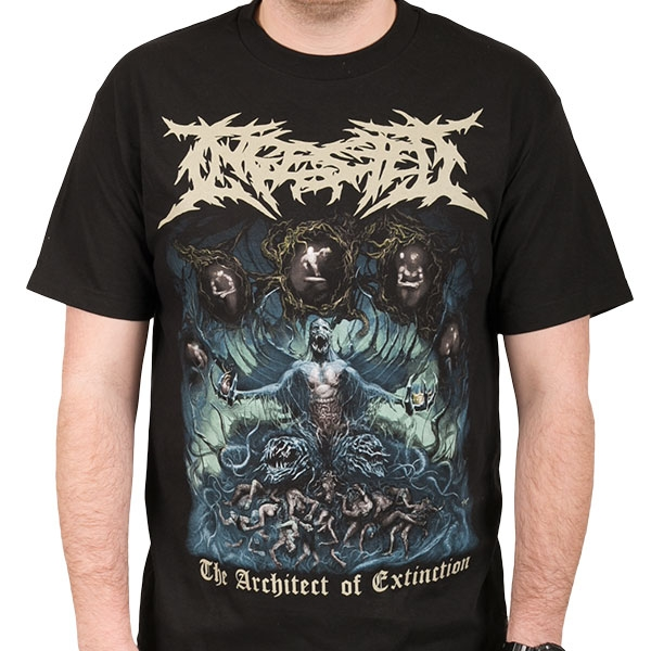 Ingested - The Architect Of Extinction (Black)