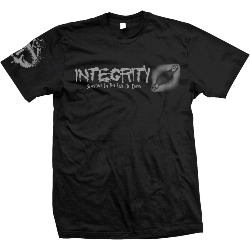 Integrity - Seasons In The Size Of Days (Black)