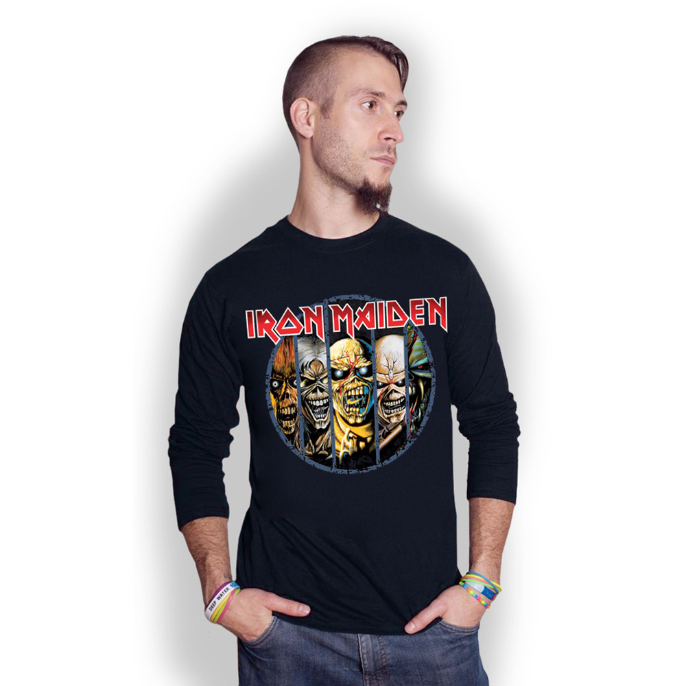 Iron Maiden - Eddie Evolution (Black)