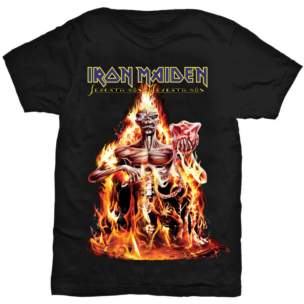 Iron Maiden - Seventh Son (Black)