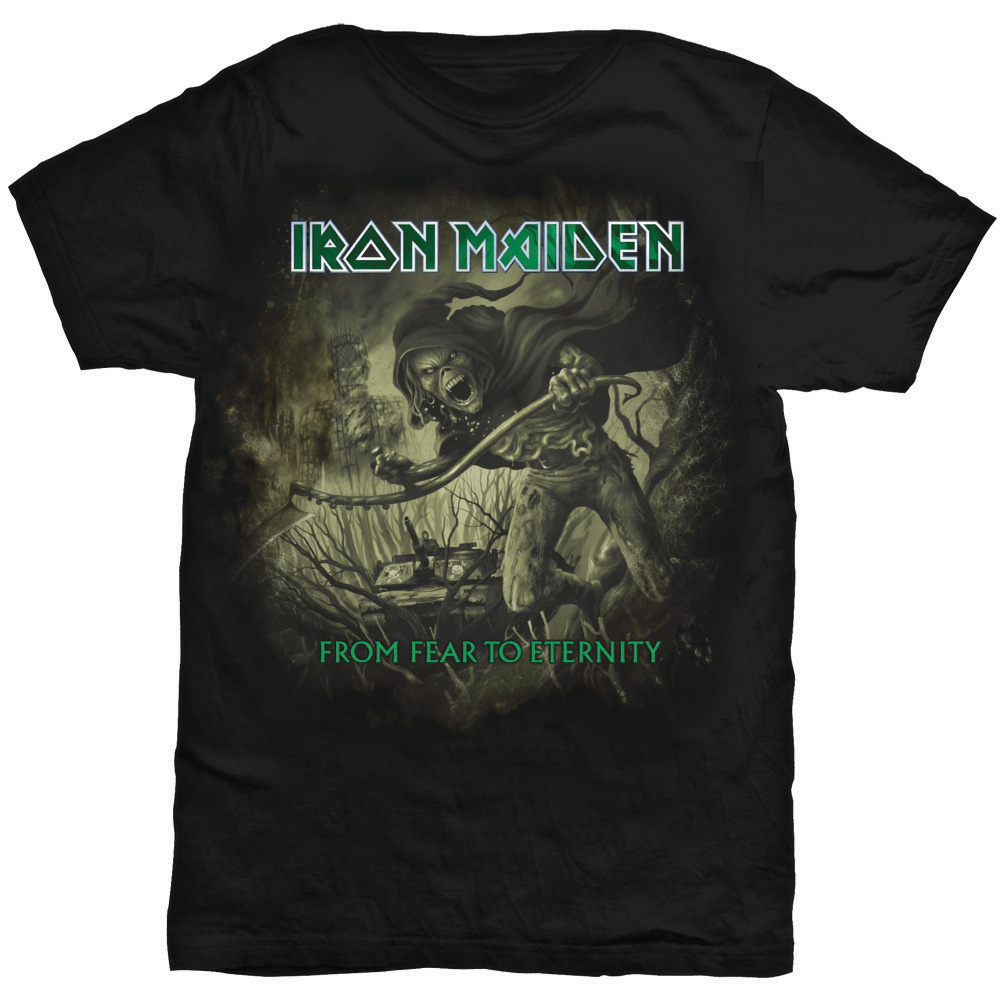 Iron Maiden - From Fear To Eternity (Black)