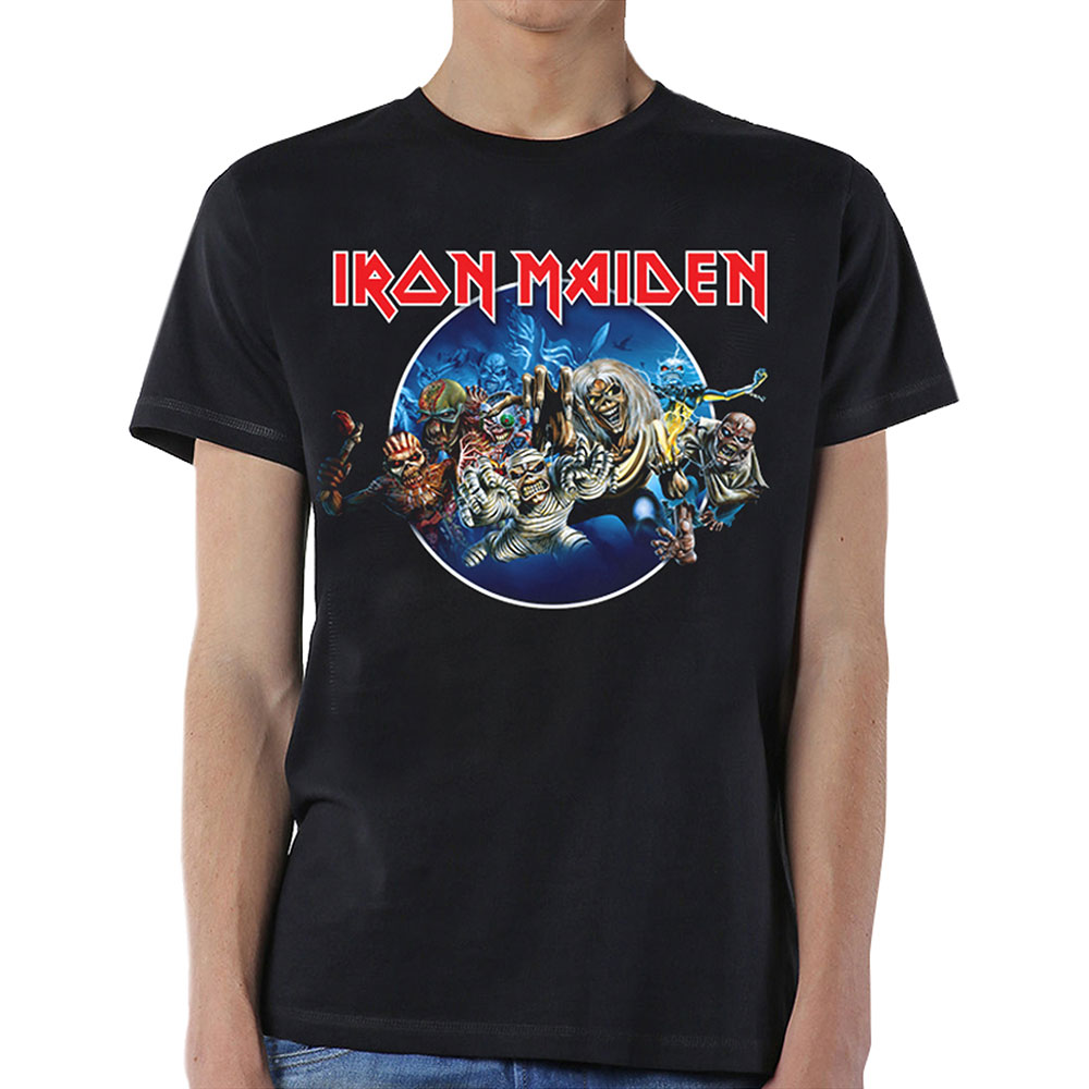 Iron Maiden - Wasted Years Circle (Black)