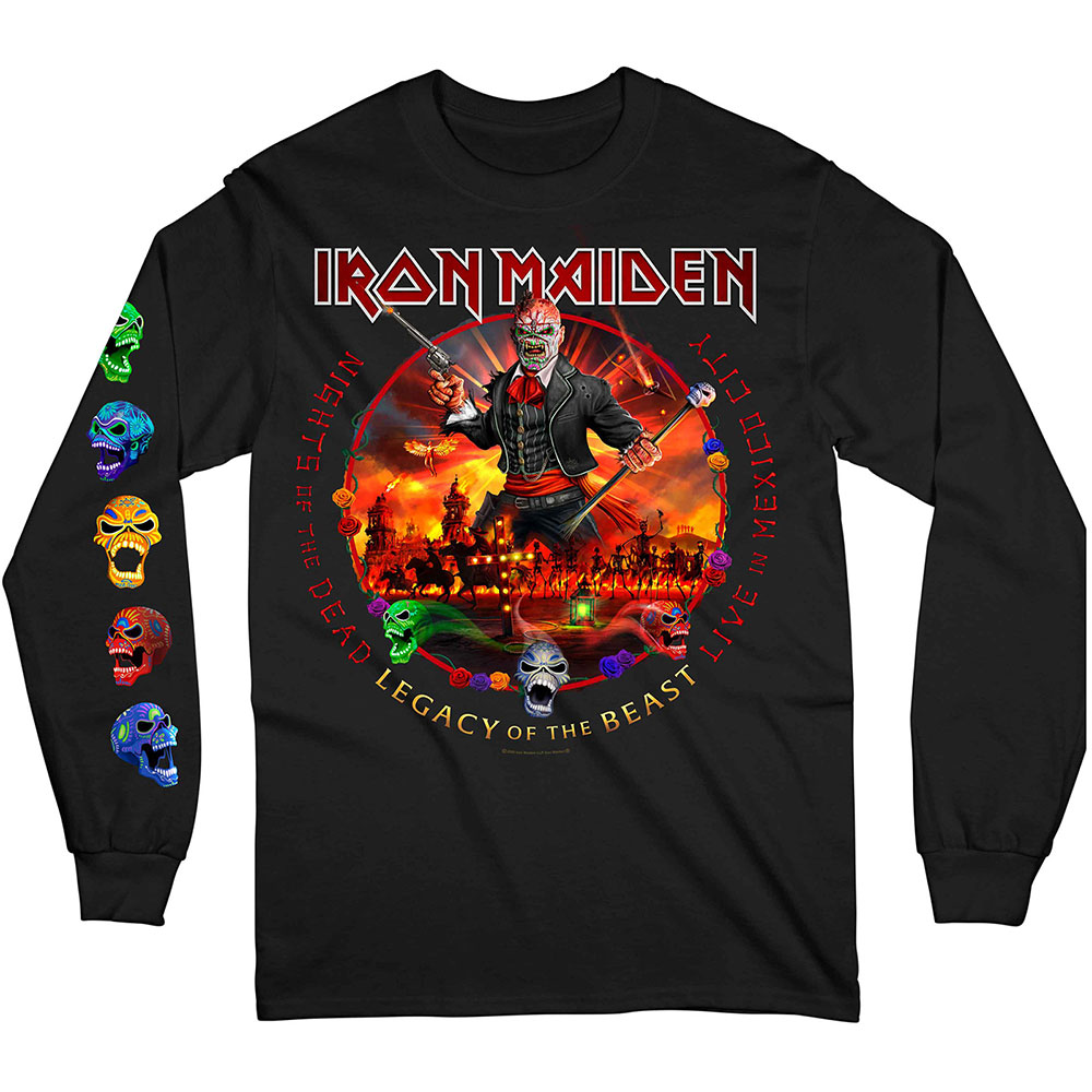 Iron Maiden - Nights Of The Dead (Arm & Back Print)
