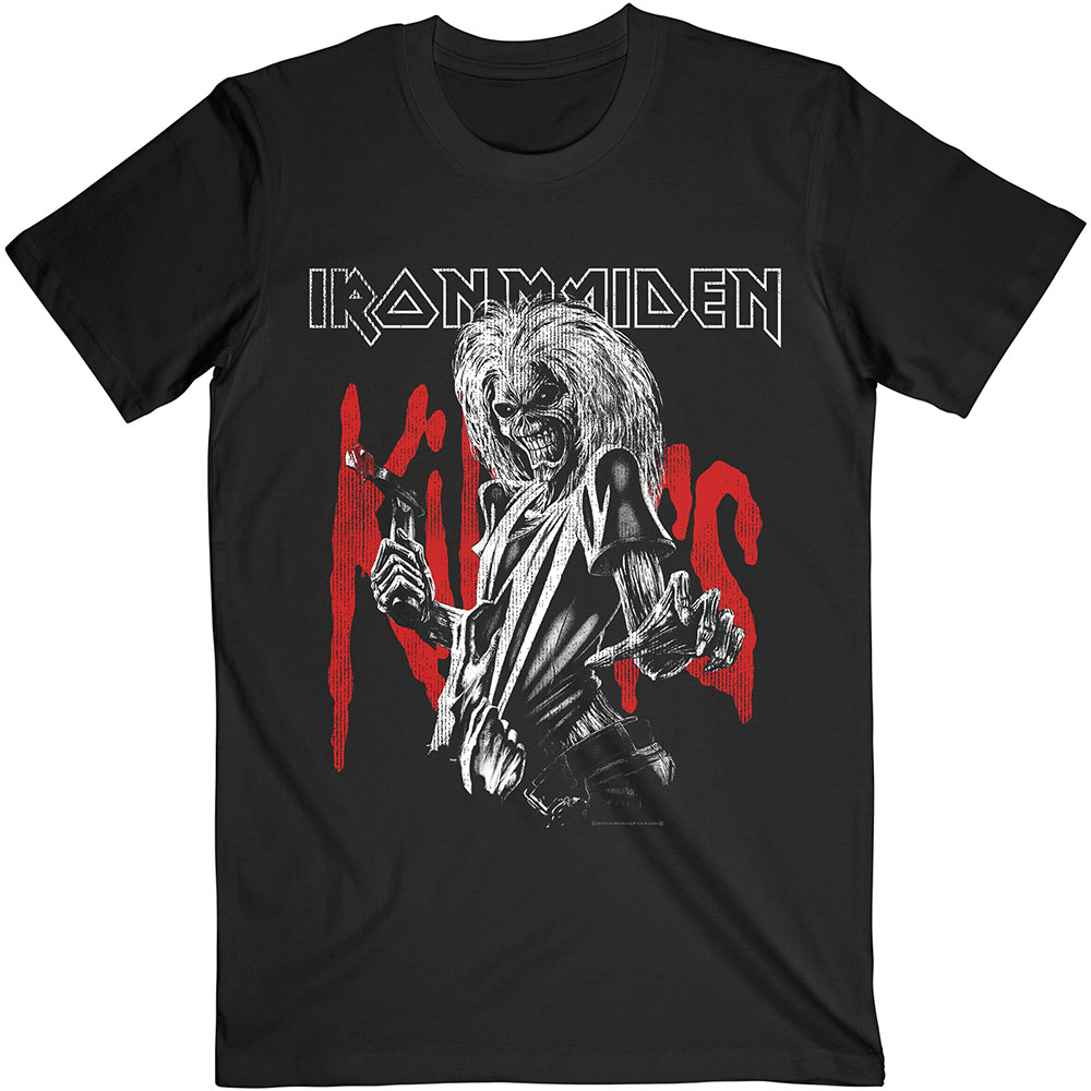 Iron Maiden - Killers Eddie Large Graphic Distress