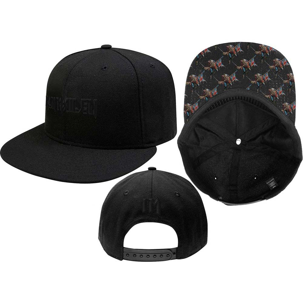 Iron Maiden - Logo & Trooper (Snapback Cap)