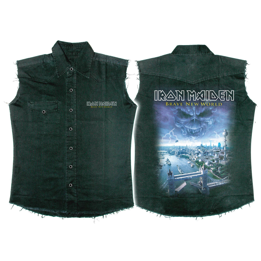 Iron Maiden - Brave New World (Work Shirt)