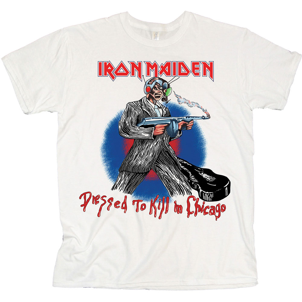 Iron Maiden - Chicago Mutants (White)