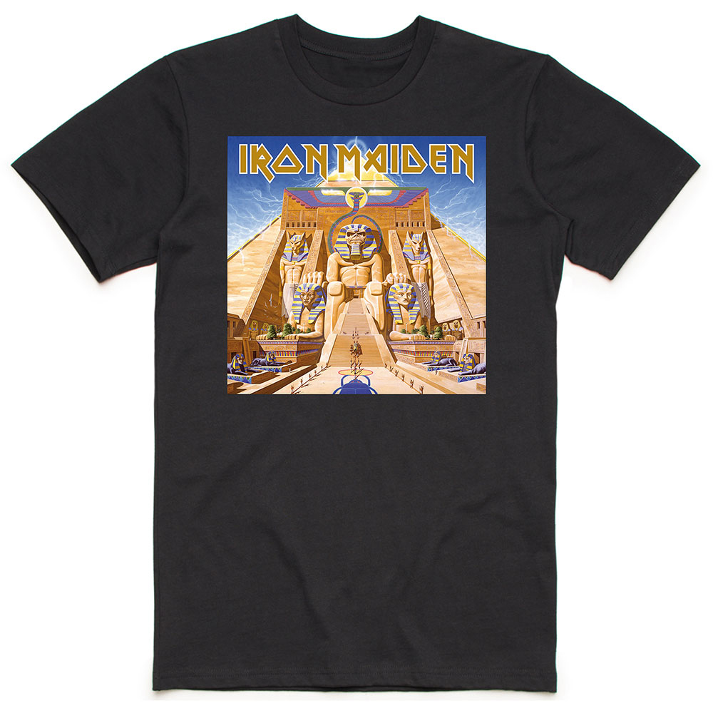 Iron Maiden - Powerslave Album Cover Box