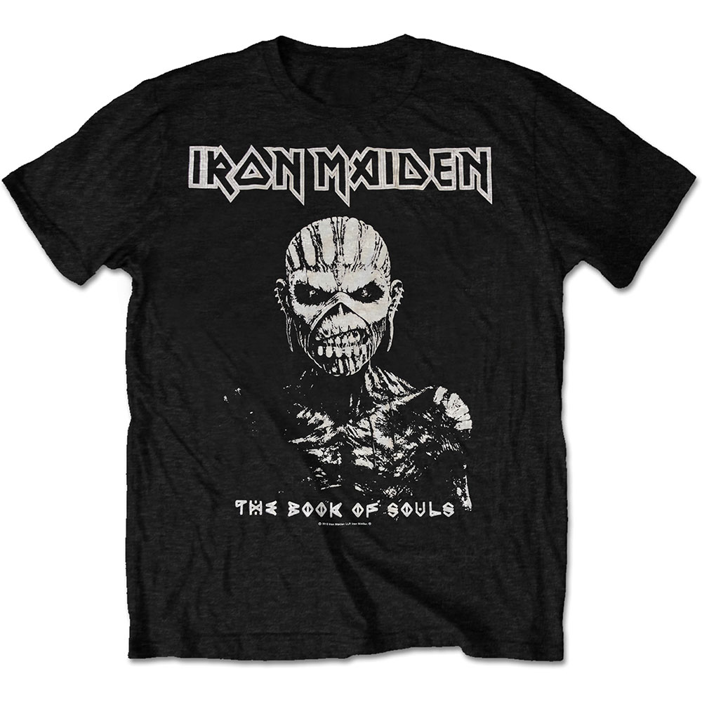 Iron Maiden - The Book of Souls White Contrast