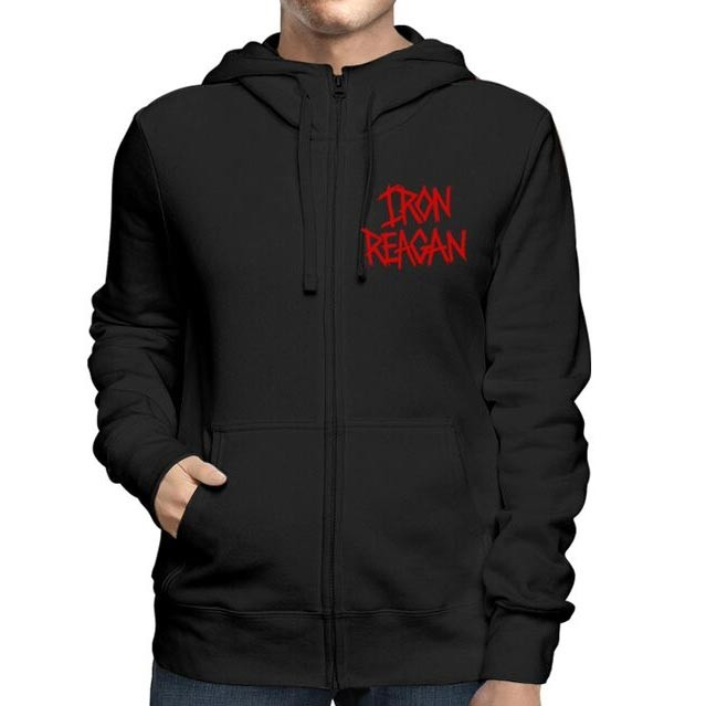 Iron Reagan - Red Logo (Black)