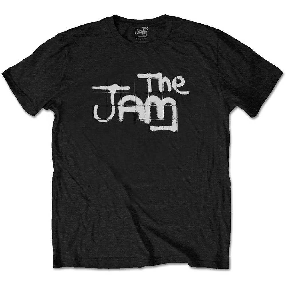 The Jam - Spray Logo Black