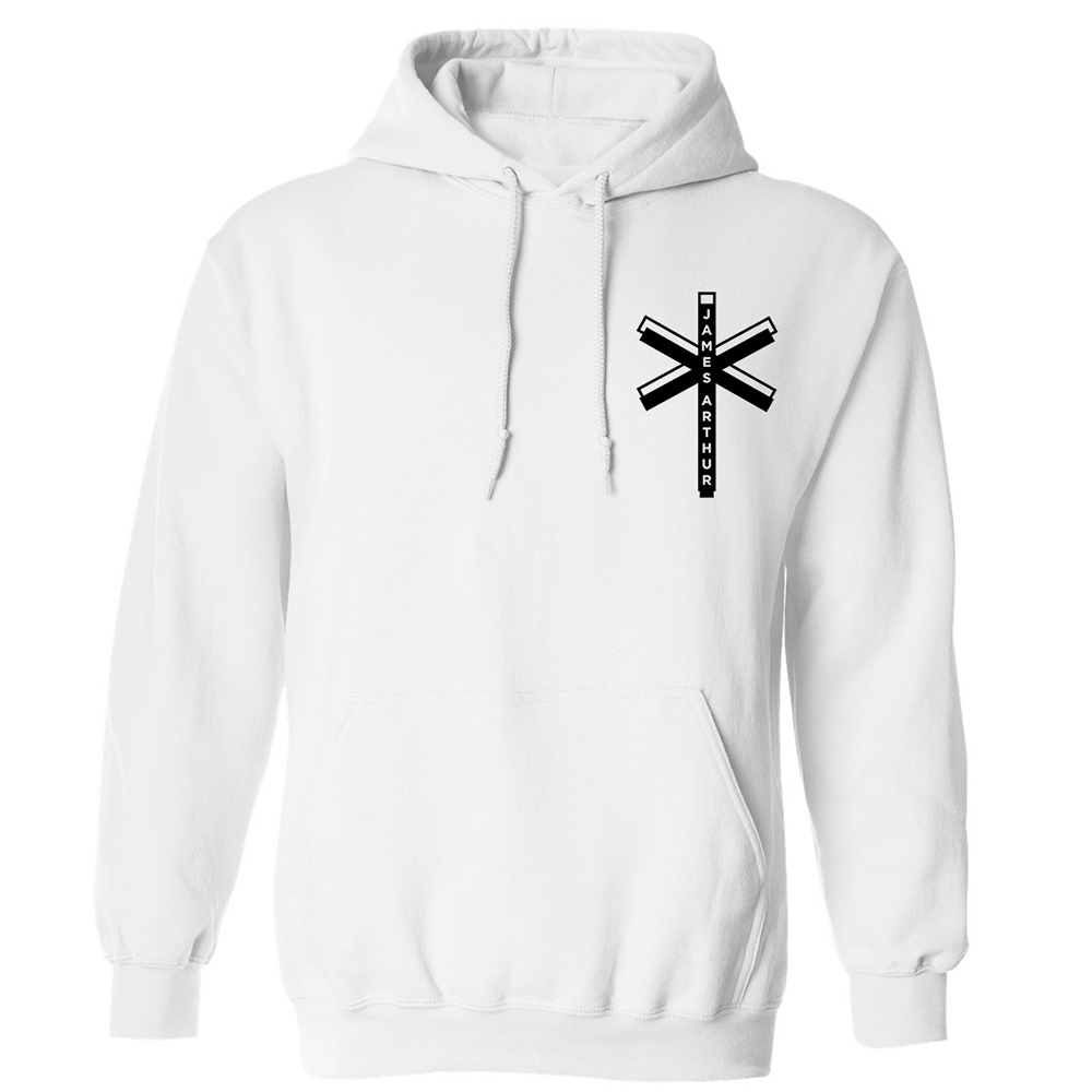 James Arthur - White Cross (Hoodie)