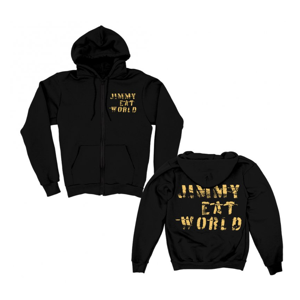 Jimmy Eat World - Stacked Duct Tape (Zip Hoodie)