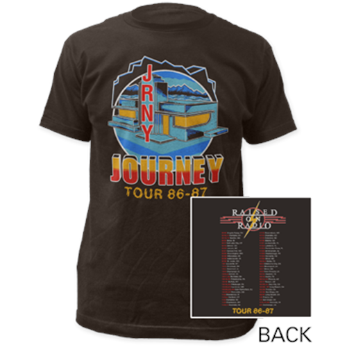 Journey - Raised On Radio (Coal)