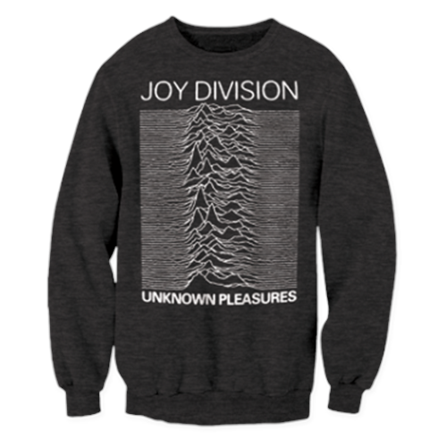 Joy Division - Unknown Pleasures (Heather Charcoal)