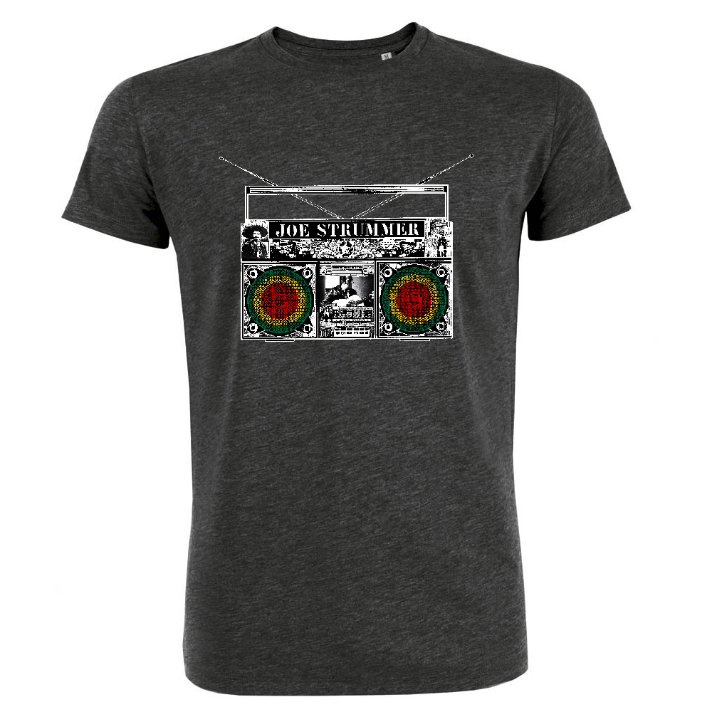 Joe Strummer - Boom Box Mens (Charcoal Heather)