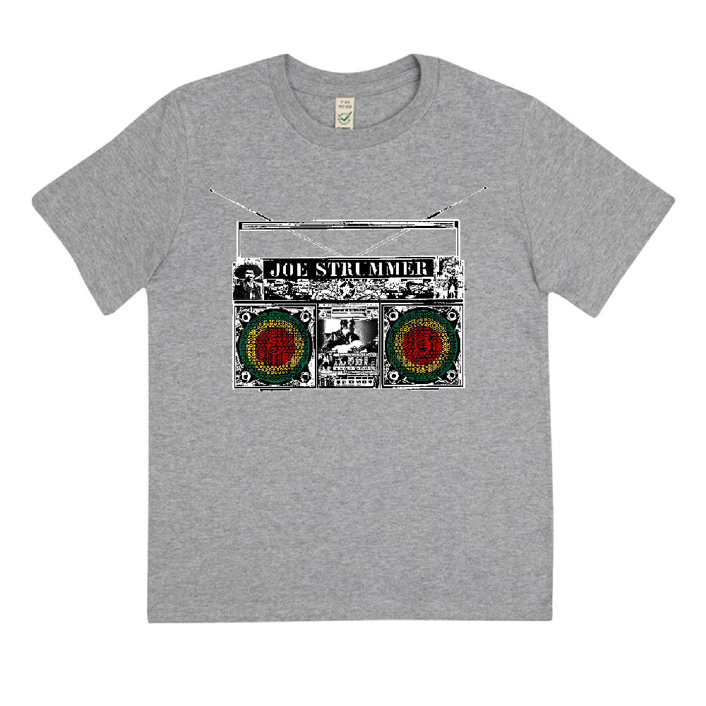 Joe Strummer - Boom Box Kids (Heather Grey)