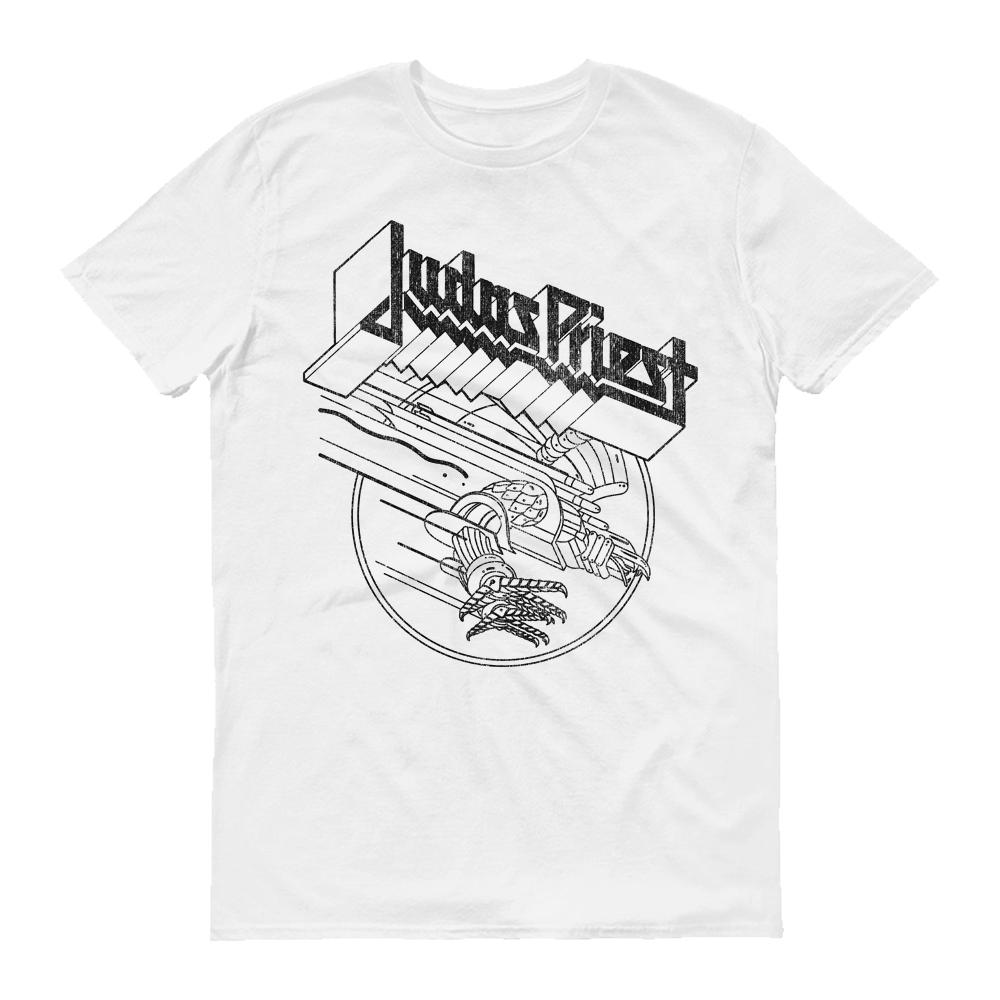 White t shirt logo
