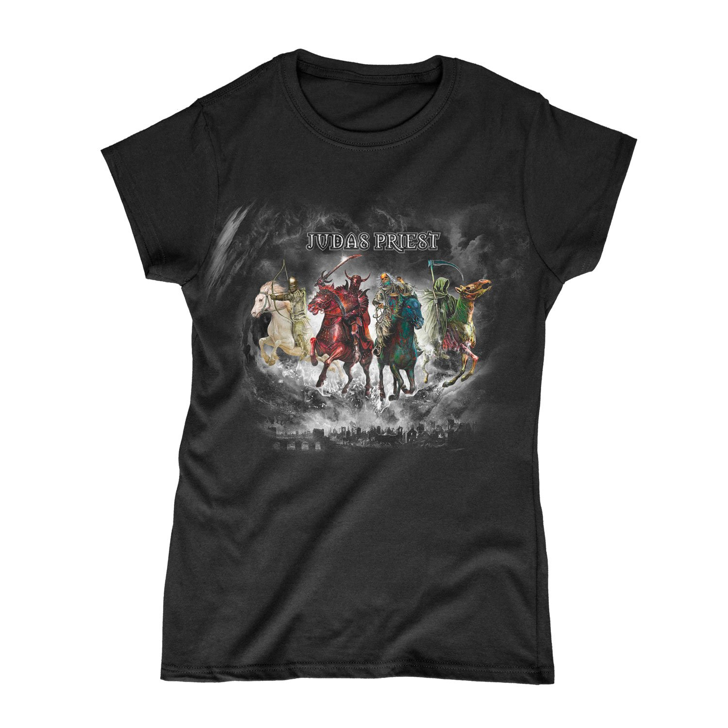 Judas Priest - Four Horsemen Womens T-Shirt