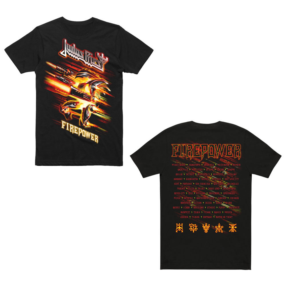Judas Priest - Firepower Creature Date Back