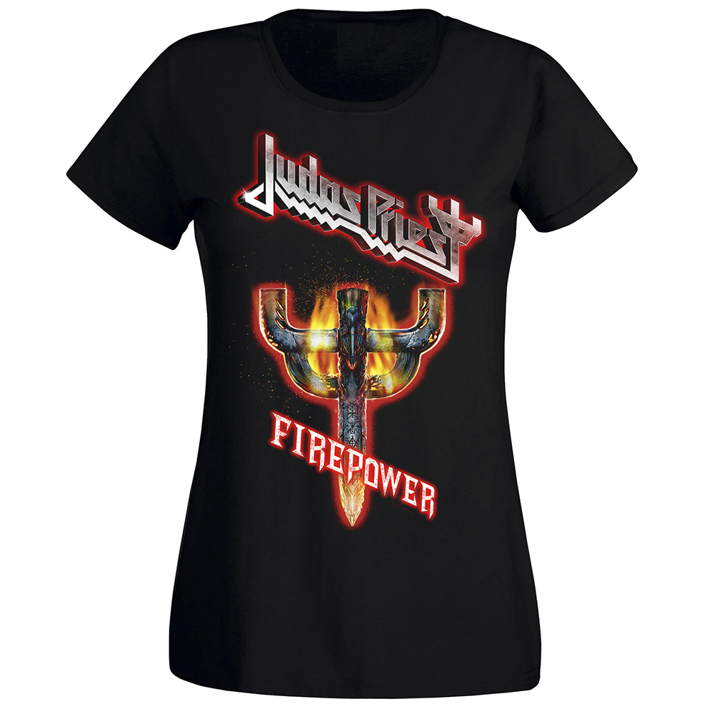 Judas Priest - Firepower Emblem (Women's)