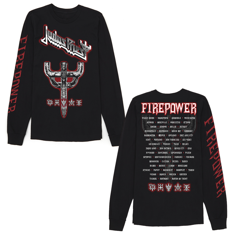 Judas Priest - Graphic Emblem (Longsleeve)